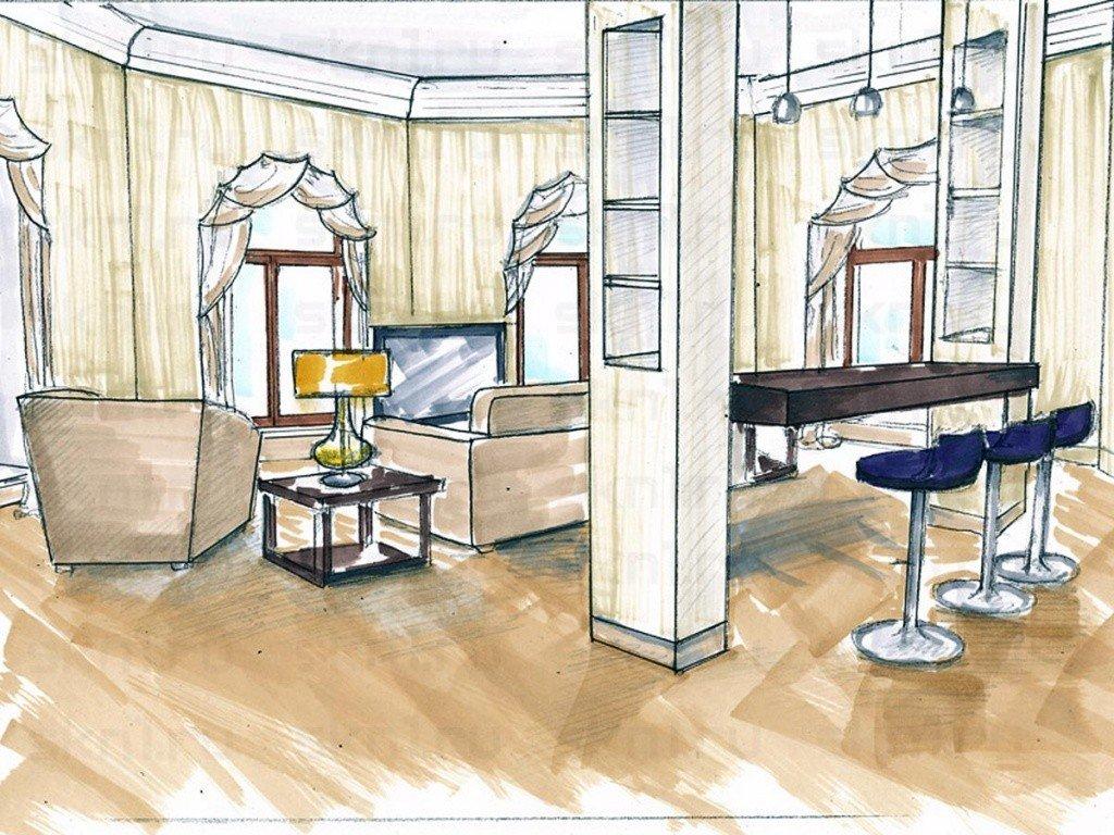 Дизайнерский проект ремонта квартиры