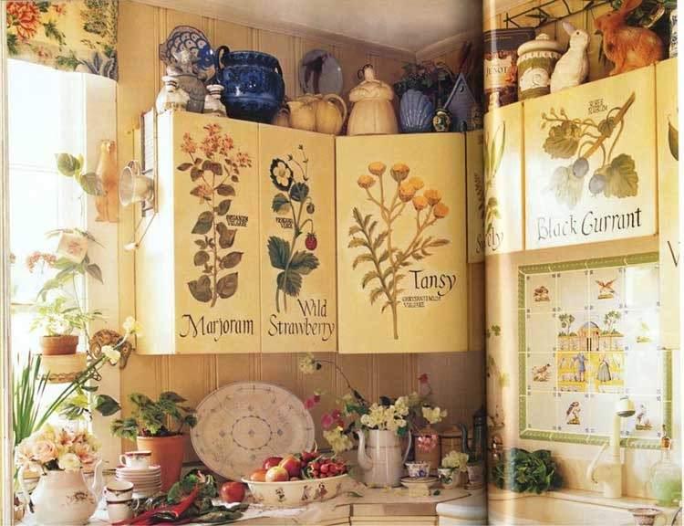 Многообразие декоративных элементов в прованском интерьере