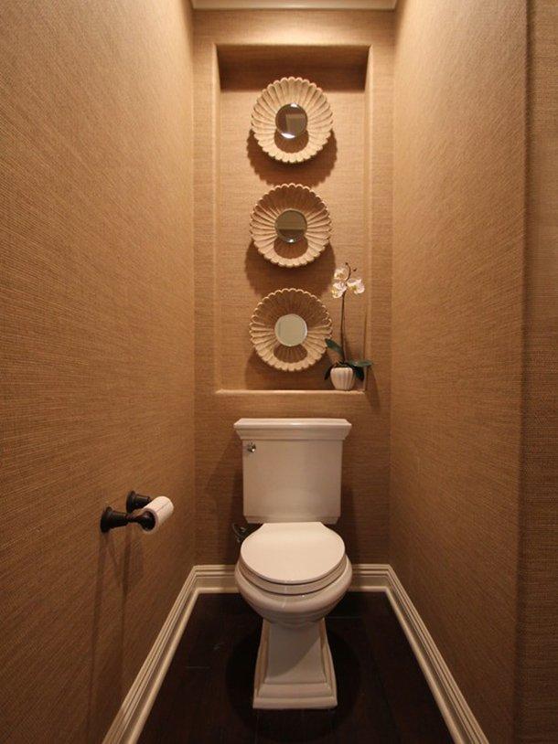 Идеи дизайна маленького туалета