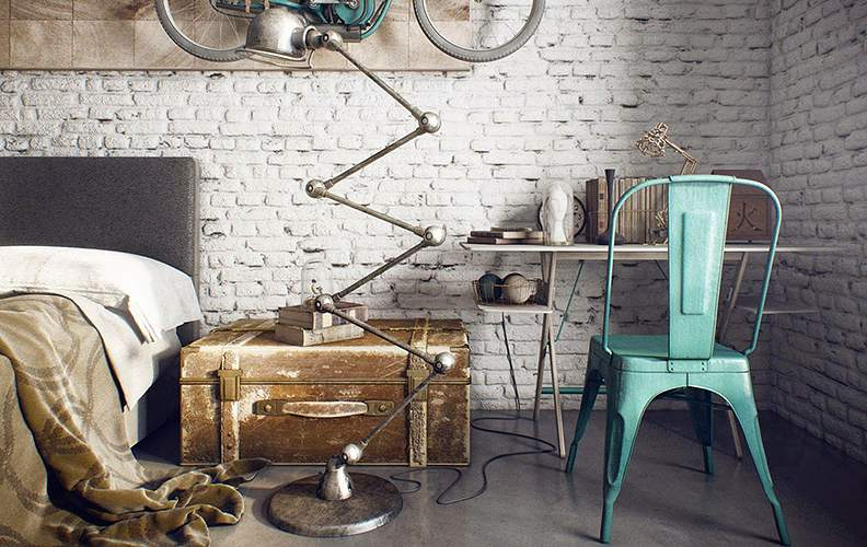 Мебель: простая, но необычная