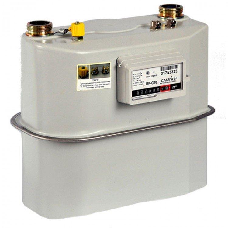 Мембранный газовый счетчик