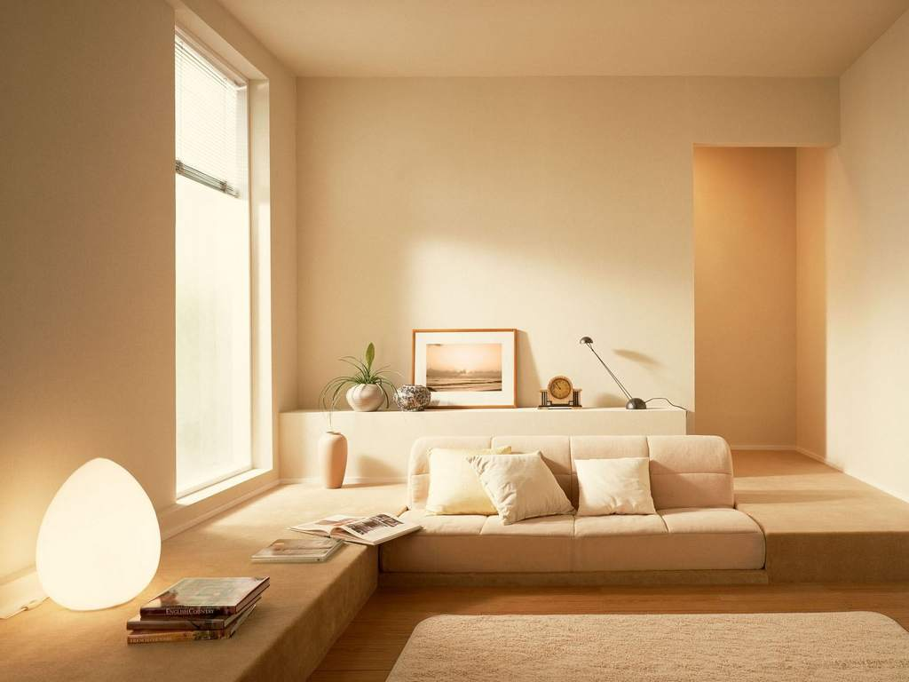 Oturma odası için duvar kağıdı tasarımı. Masaüstü duvar kağıtları: bitirme örnekleri ile fotoğraf