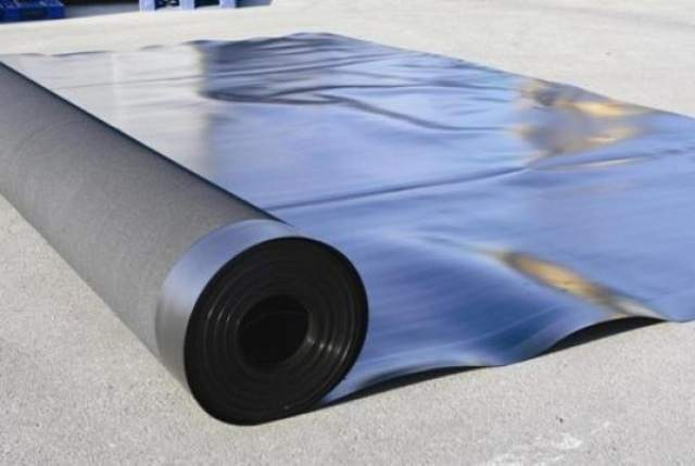 Рулонный гидроизолирующий материал