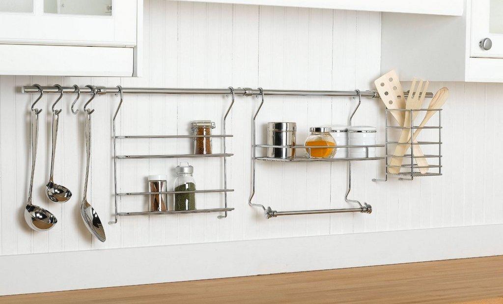 Системы хранения для маленькой кухни