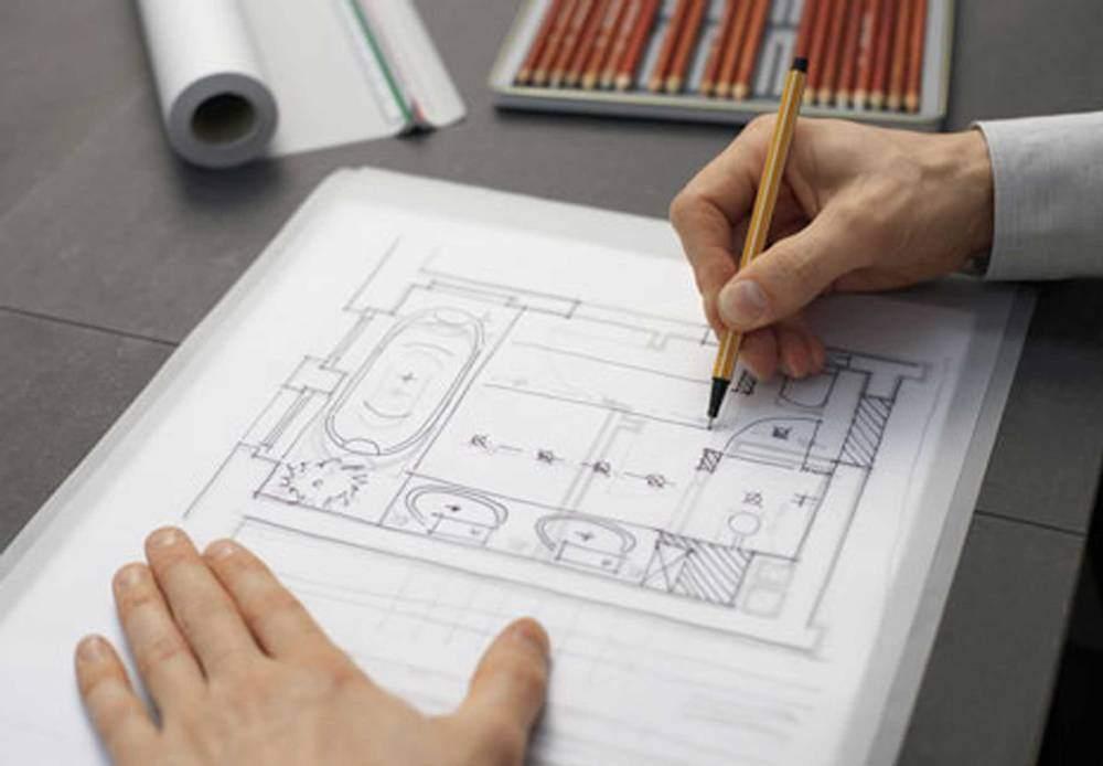 Делаем схему помещения на бумаге