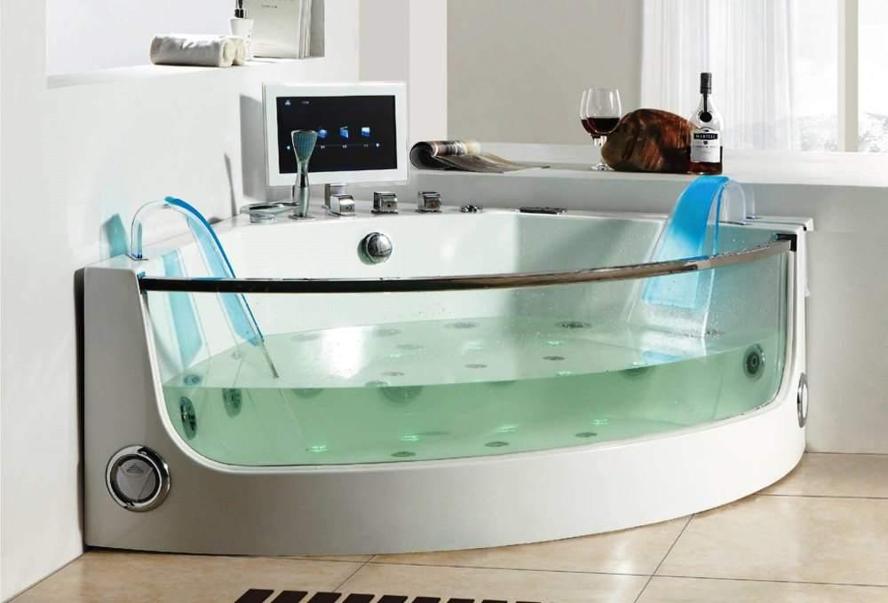 Акриловая ванна с дополнительными функциями