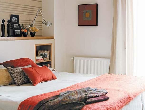 Декор маленькой спальни