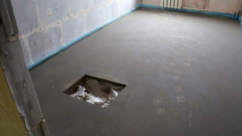 Рассчитываем время полного высыхания стяжки на полу