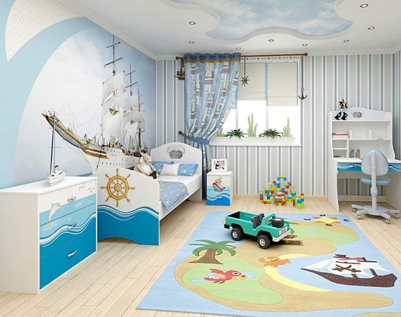 Тематическая комната для ребенка