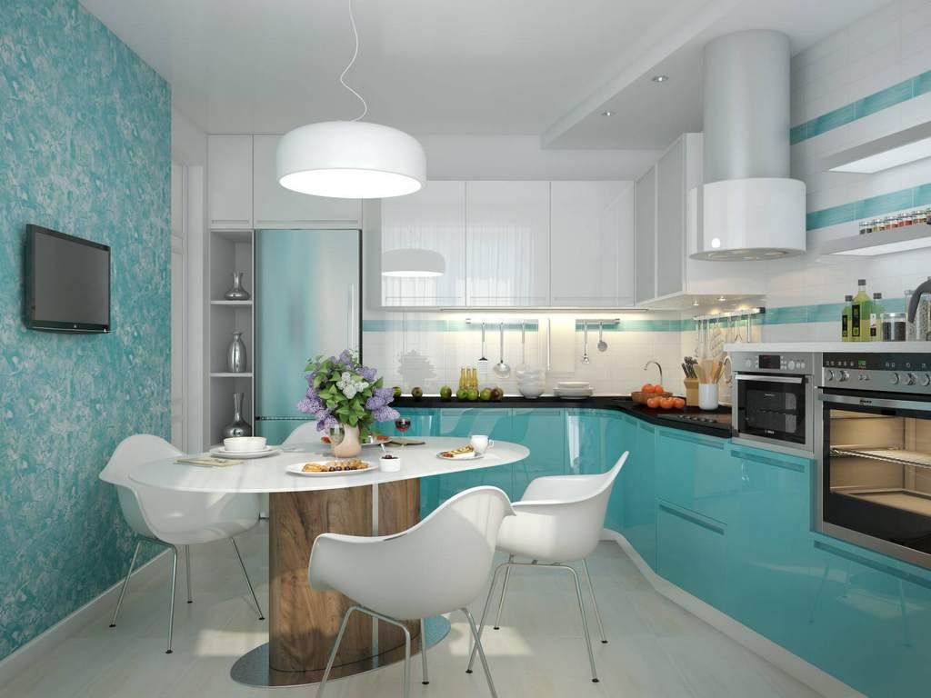 Виды отделки стен на кухне
