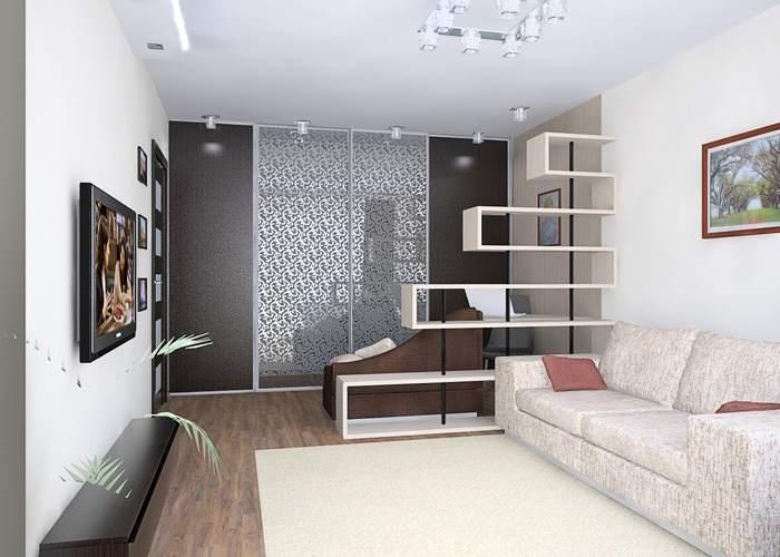 Визуальное увеличение пространства квартиры