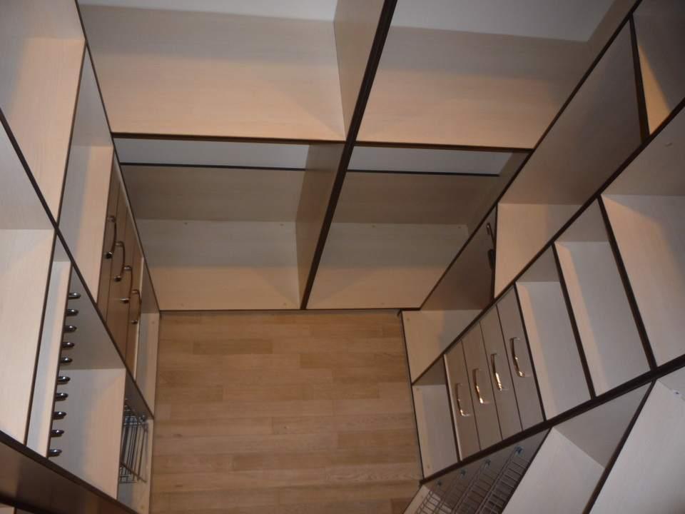 Внутреннее пространство гардероба