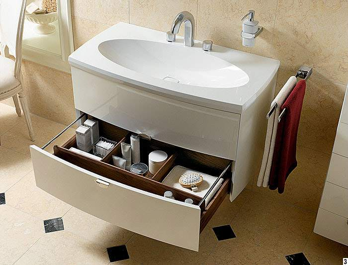 Выбираем размеры раковины для ванной