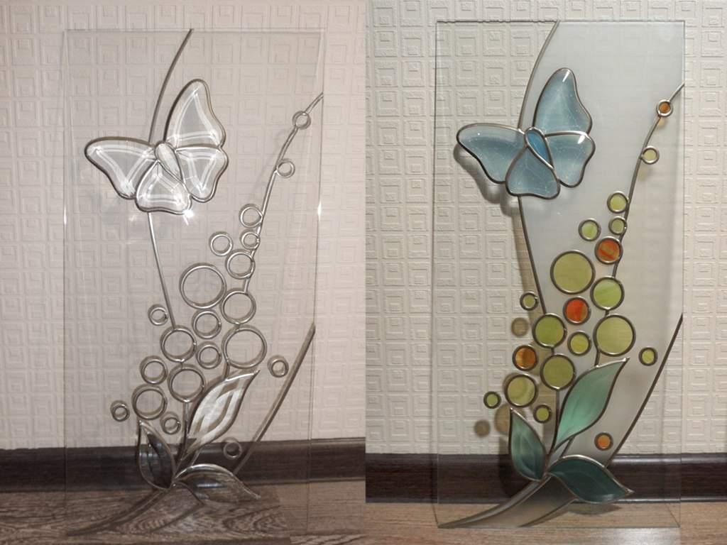 Декорирование витражными красками