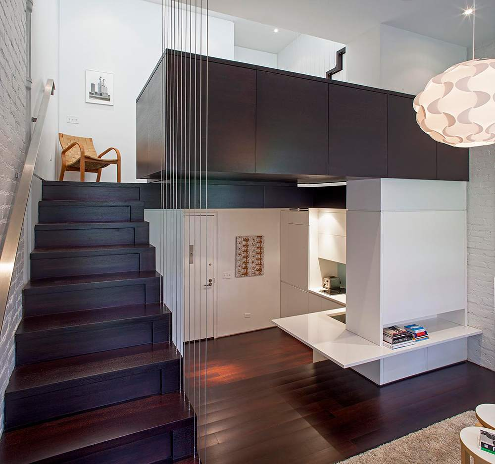 Двухуровневая квартира-студия