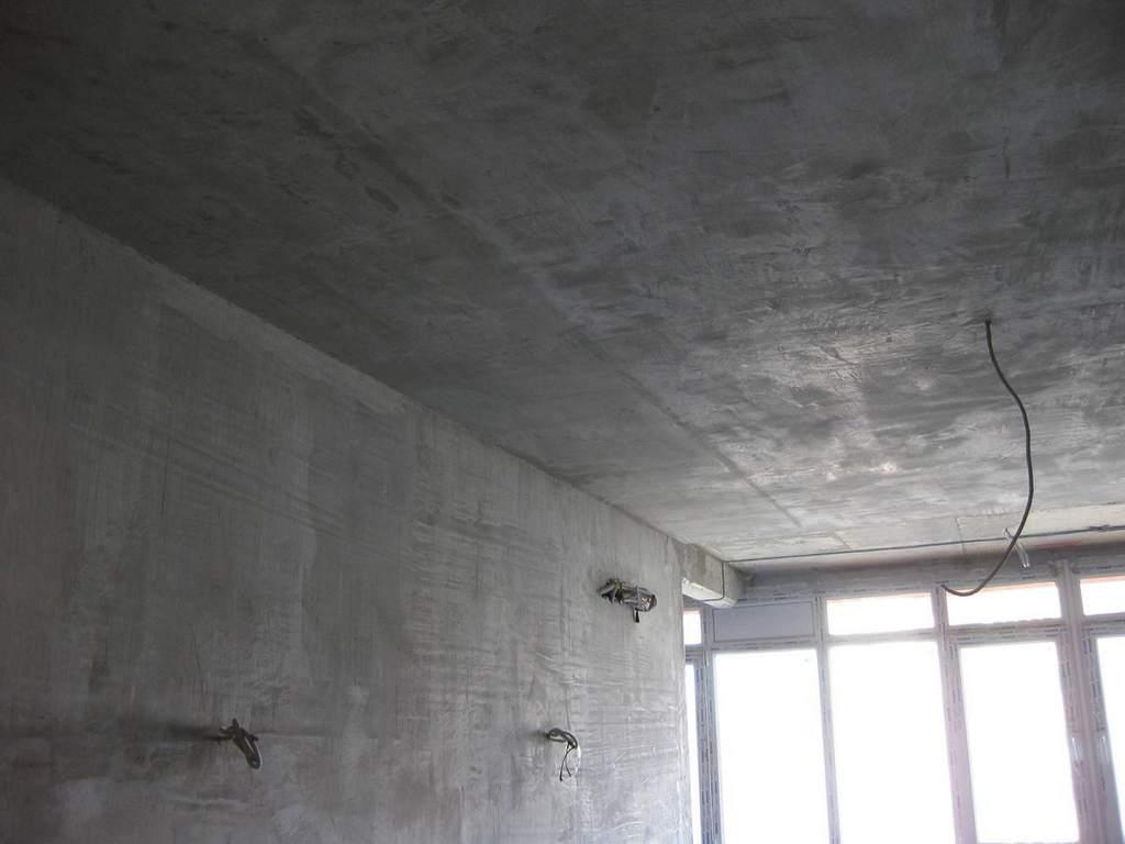 Подготовка стен и потолка к росписи