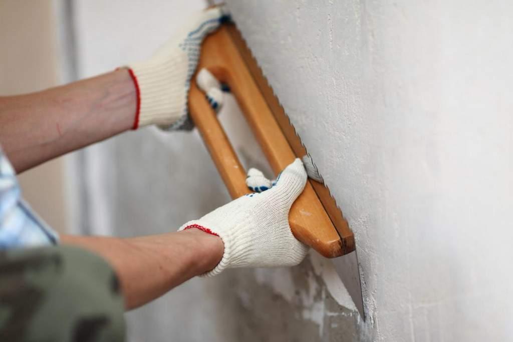 Подготовка стен к штукатурке