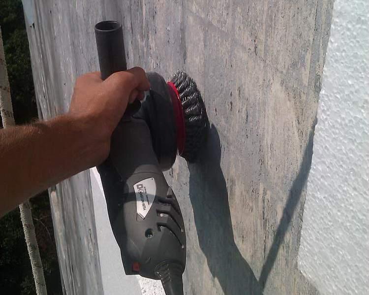 Подготовка стены к утеплению пеноплексом