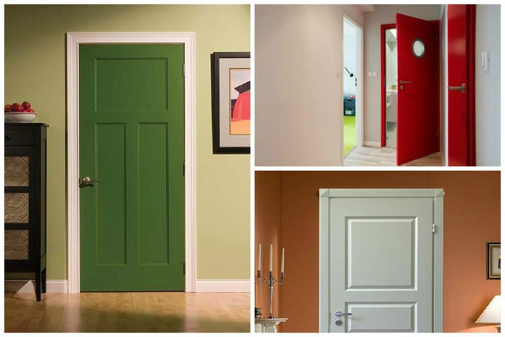 Простое решение - покраска двери