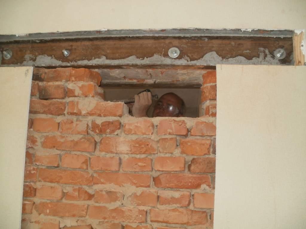 Сделать проем в бетонной стене своими руками