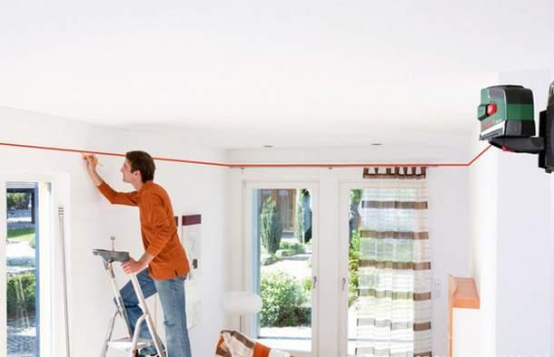 Разметка для подвесного потолка