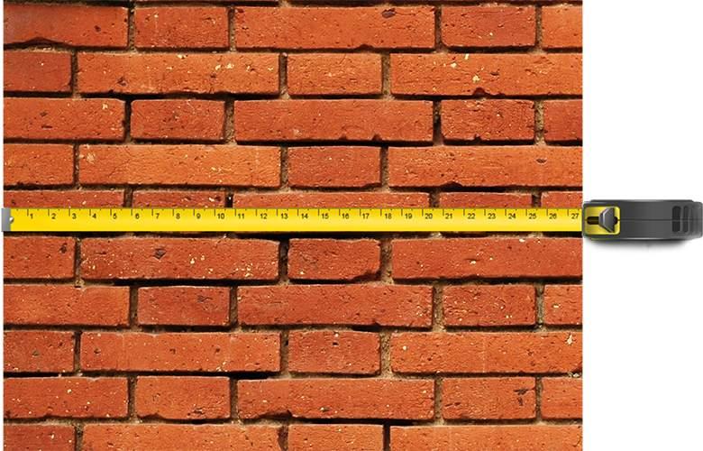 Размечаем стены под проем