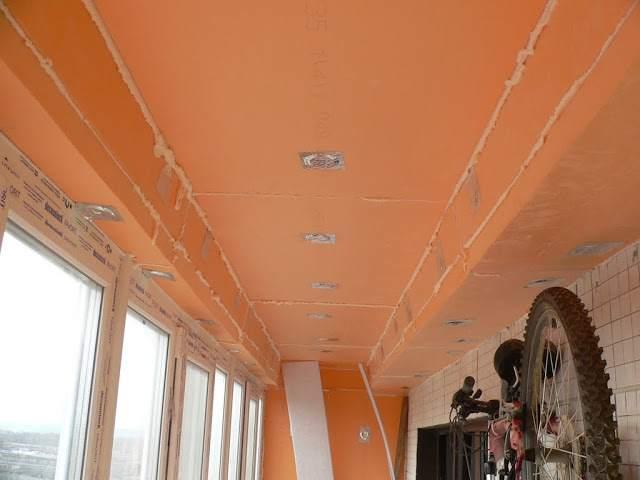 Утепляем потолок плитами пеноплекса