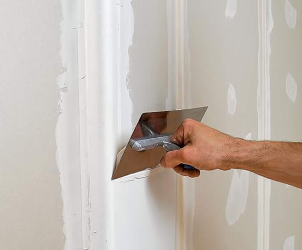 Шпаклевка стены из гипсокартона своими руками видео