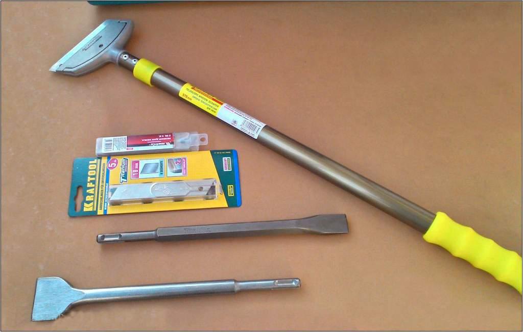 Инструменты для снятия штукатурки