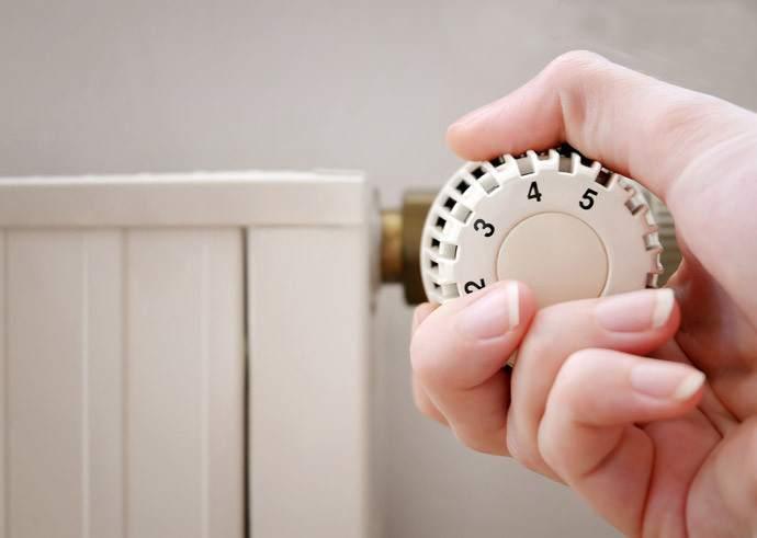 При регулировке температуры отопления нужно избегать резких перепадов
