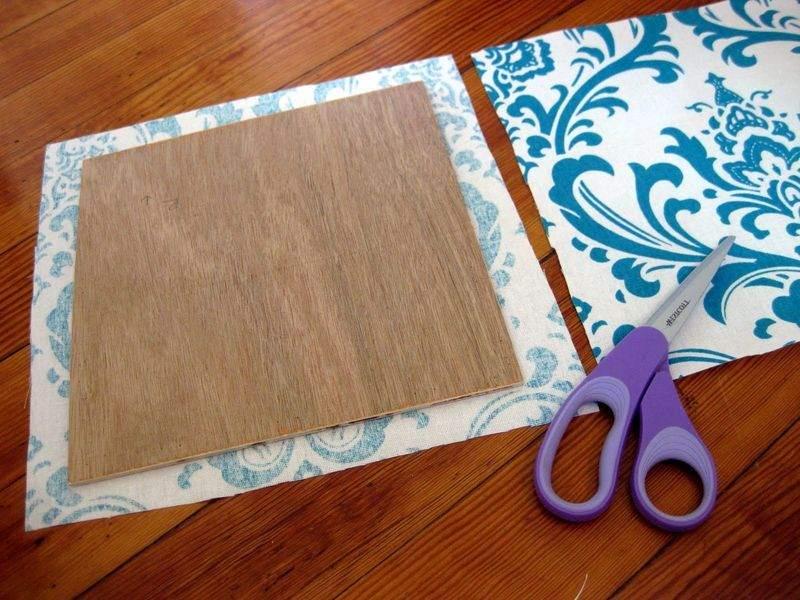 Изготовление мягкой панели своими руками