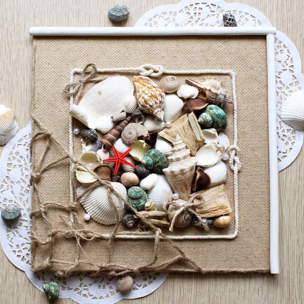 Морское панно своими руками фото 937