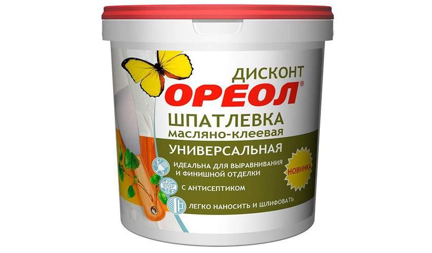 Масляно-клеевая шпатлевка
