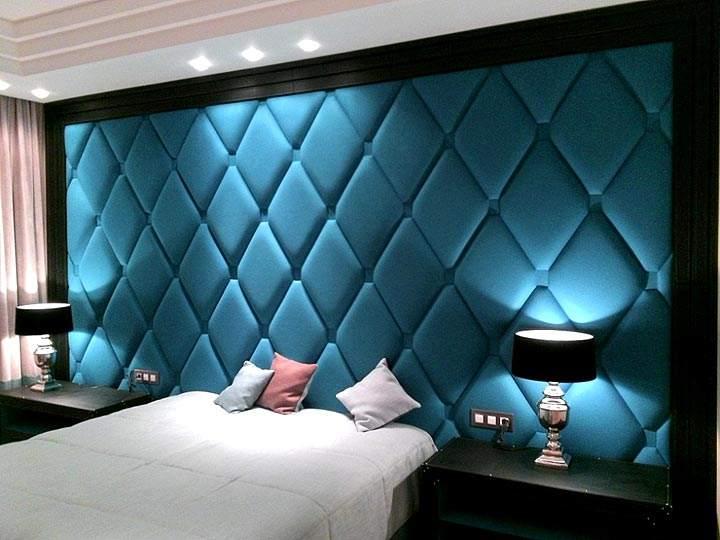 Как сделать мягкие стеновые панели своими руками