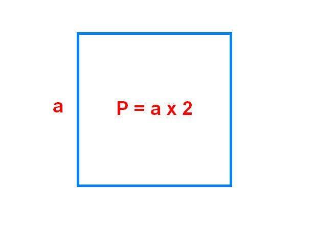 Периметр комнаты квадратной формы