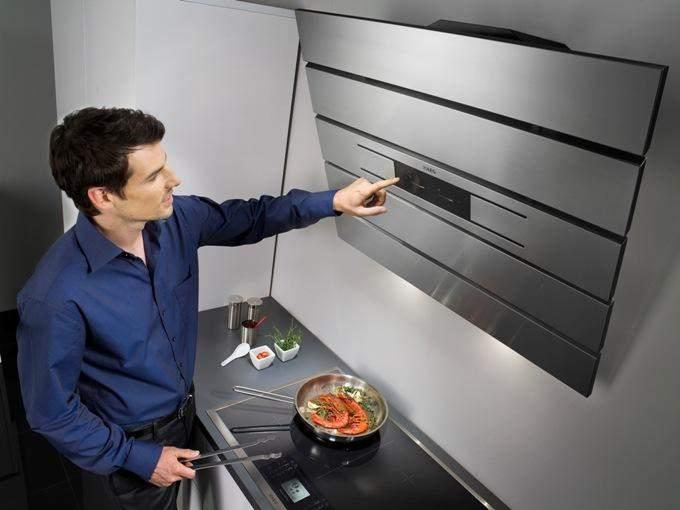 Рассчитываем мощность вытяжки на кухню