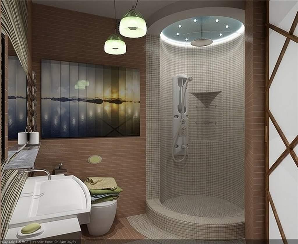 Дизайн ванны с душевой кабиной и туалетом фото
