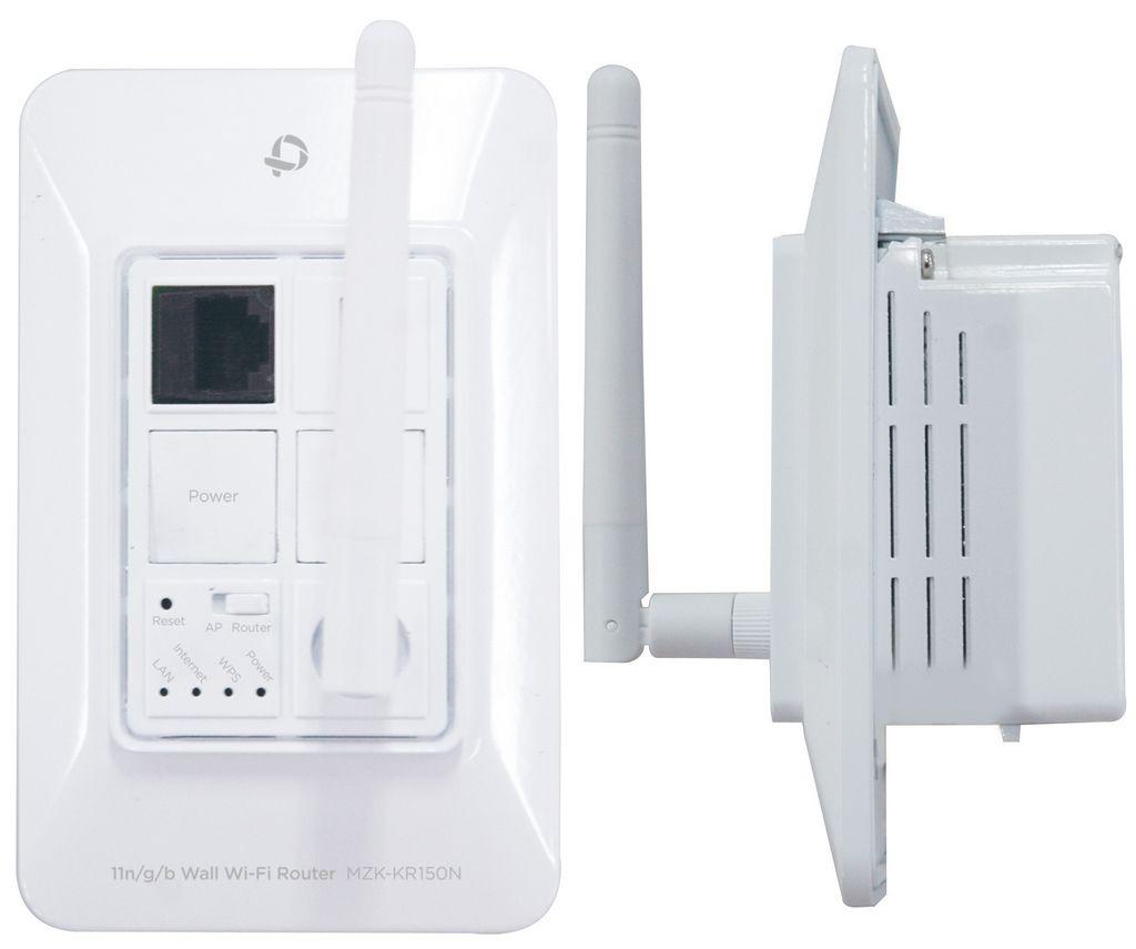 встраиваемый в стену wifi маршрутизатор MZK-KR150N