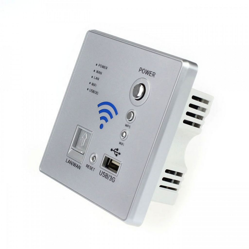встраиваемый в стену wifi маршрутизатор без антенны