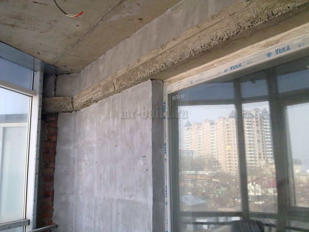 Состояние балконов после застройщика