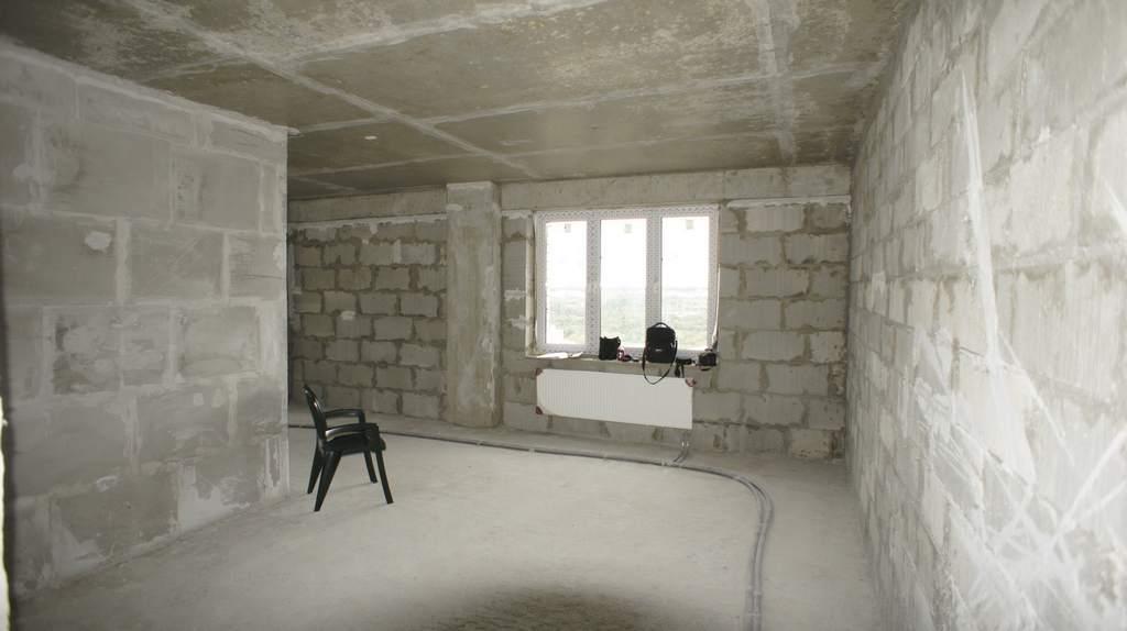 Черновая отделка в квартире