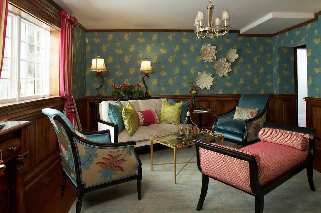 Цветовая гамма современного барокко