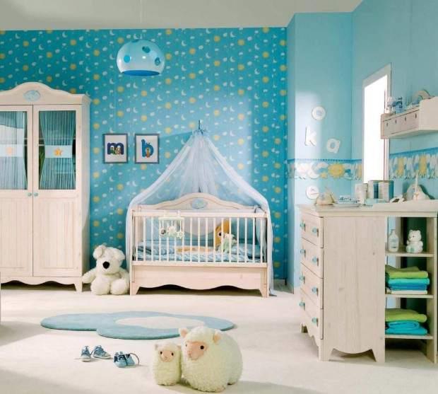 Цветовое решение для детской комнаты