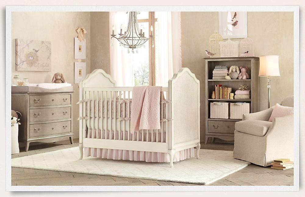 Оформляем комнату для новорожденной девочки