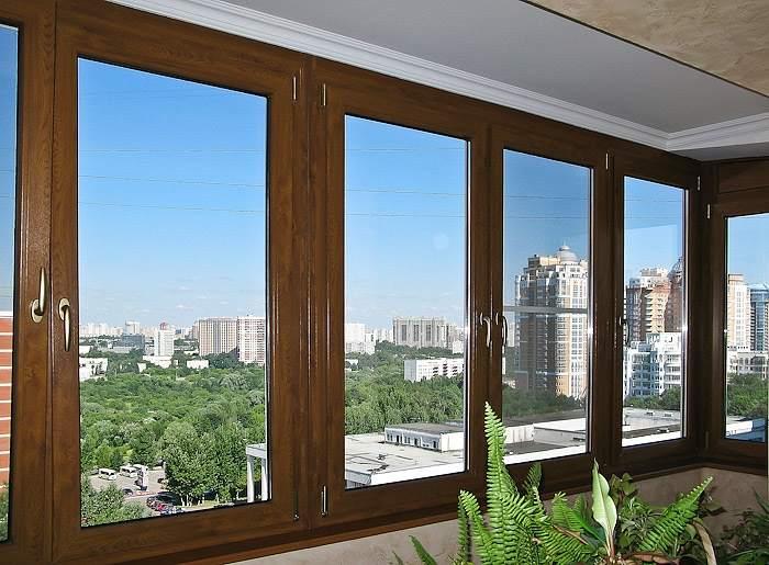 Деревянные окна со стеклопакетами