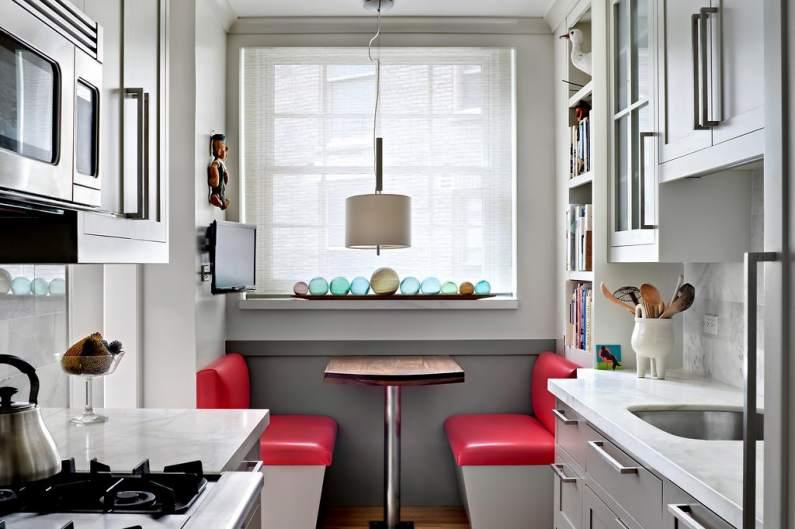 Эффективное использование пространства маленькой кухни
