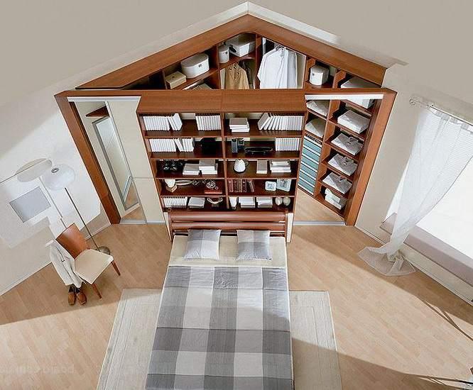 Выгодное использование угла спальни
