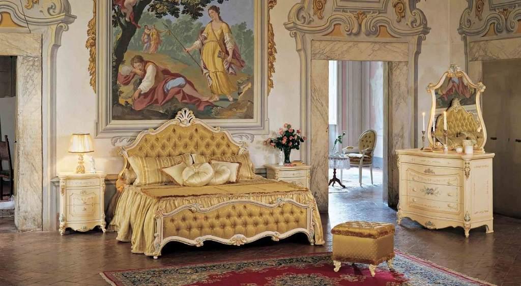 Гобелен в интерьере барокко