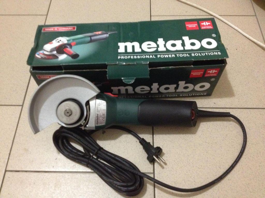 METABO WEV 10 125 QUICK, отзывы пользователей