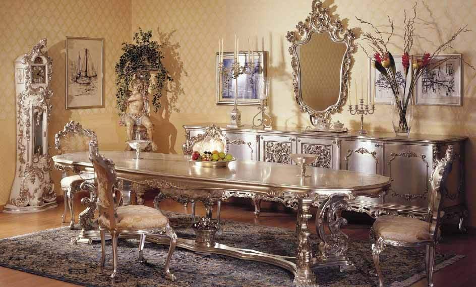 Кованая барочная мебель